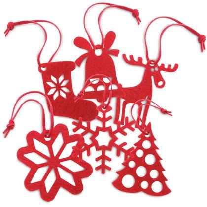 Joulukuusenkoriste Red