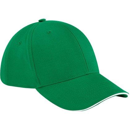 kelly green/ white