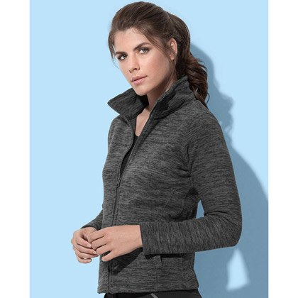 Stedman Active Melange Fleece Jacket Women