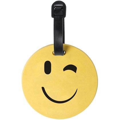 Etichetta per valigia Emoji