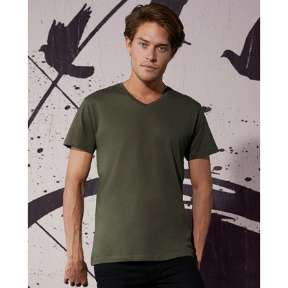 B&C Organic V-neck Tee Men