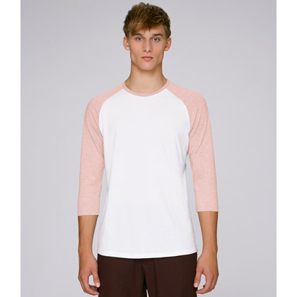 white/ cream heather pink