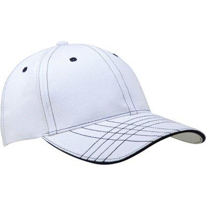 white/ navy
