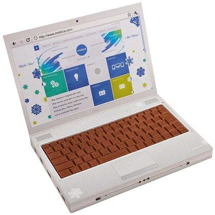 Sjokoladeeske Laptop
