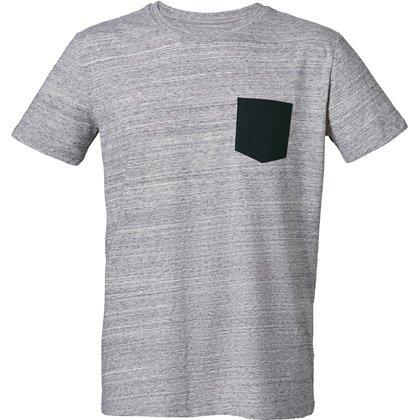 slub heather grey/ black