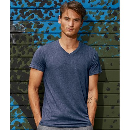 B&C Triblend V-neck Men
