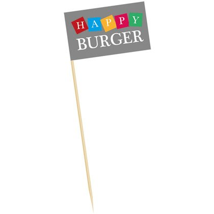 Lippu Burger 125 mm