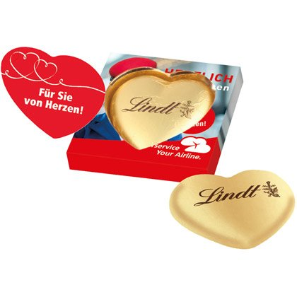 Lindt Heart Single Box