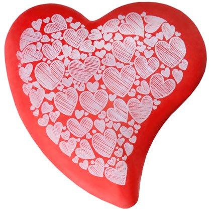 Radiergummi Heart