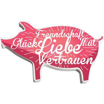 Viskelæder Pig