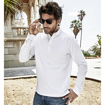 Tee Jays Fashion Long Sleeve Luxury Stretch Polo