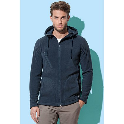 Stedman Active Hooded Fleecejacke