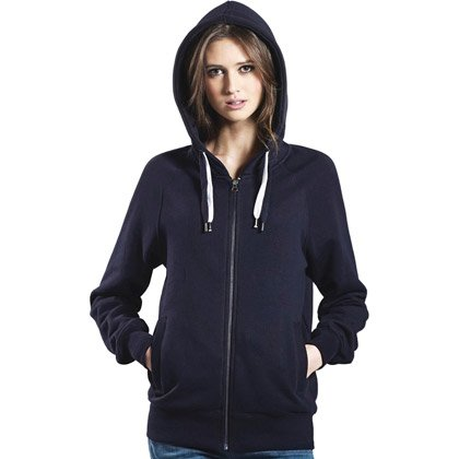 Continental Organic Zip-Up Hoody