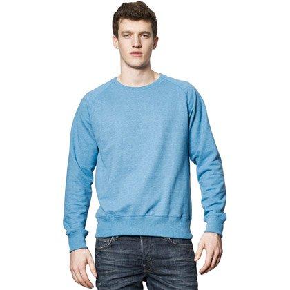 mid blue melange