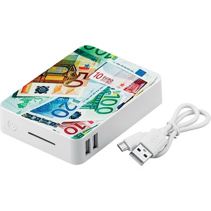 Powerbank Tate, 10.000 mAh