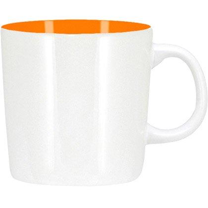 white/ orange