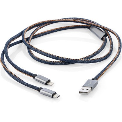 USB-Kabel Denim