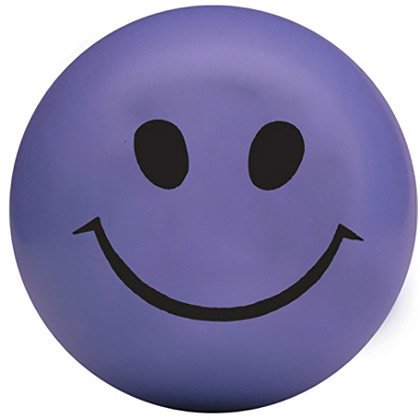 Stressipallo Smiley