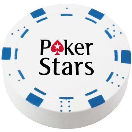 Stressipallo Poker Chip