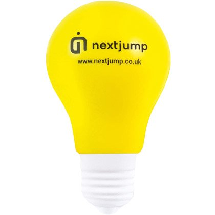 Stressball Light Bulb