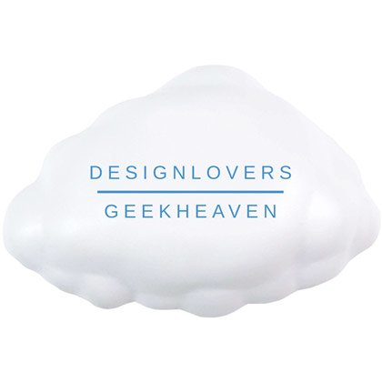 Anti-Stressball Wolke