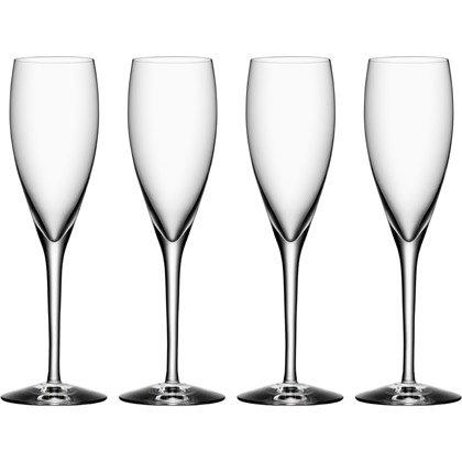Orrefors More Champagner, 4-Pack