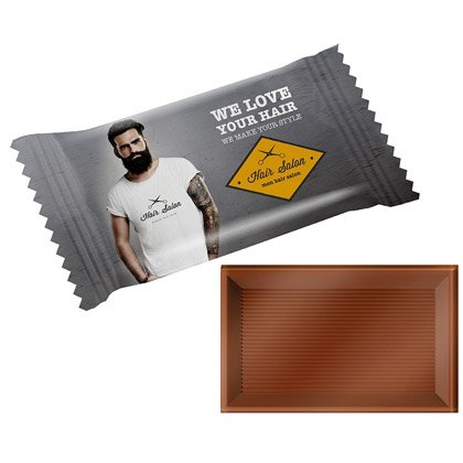 Schokolade Miniriegel Flowpack 10 g