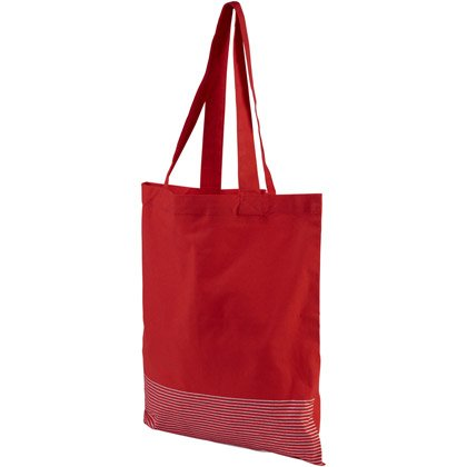 Borsa shopper in cotone Carter