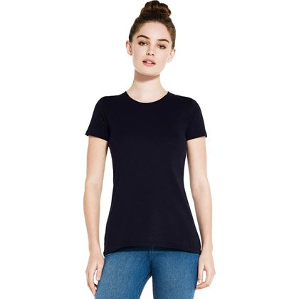 T-shirt da donna slim fit Continental Organic