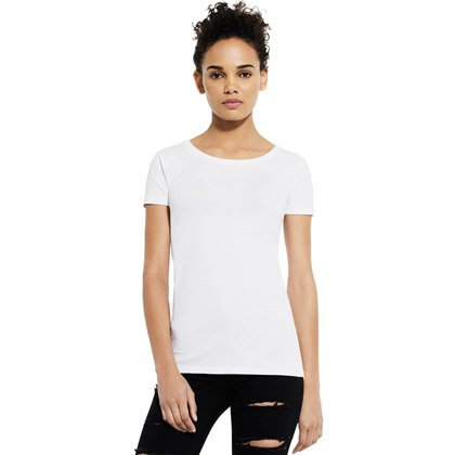 Classica T-shirt da donna stretch Continental Organic