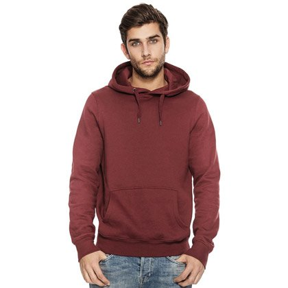 Continental Organic Unisex Pullover Hoody