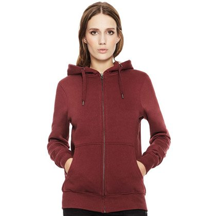 Continental Organic Unisex Zip-up Hoody
