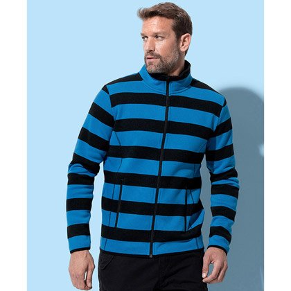 Stedman Active Striped Fleece Jacket
