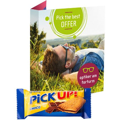 Leibniz Pick Up Choco Card