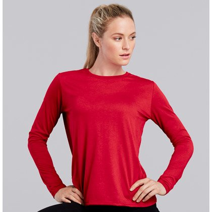 Gildan Performance Long Sleeve Ladies T-shirt