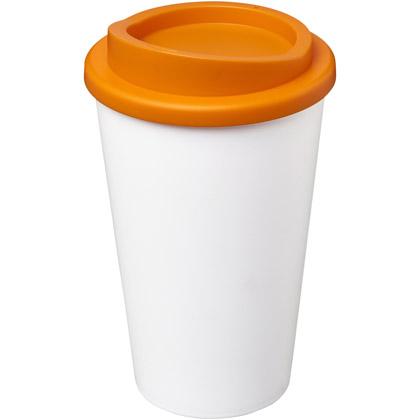 valkoinen/ oranssi