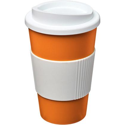 orange/ white