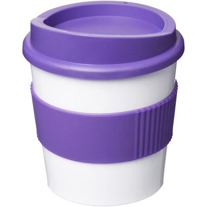 white/ purple