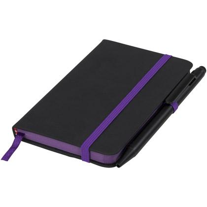 black/ purple