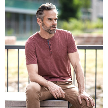 Russell Men´s Henley HD T 168M