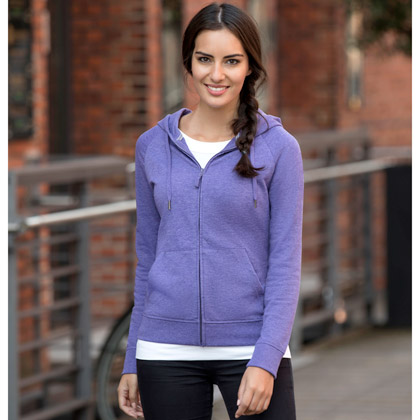 Russell Ladies HD Zipped Hood Sweat 284F