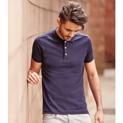 Russell Men´s Fitted Stretch Polo 566M