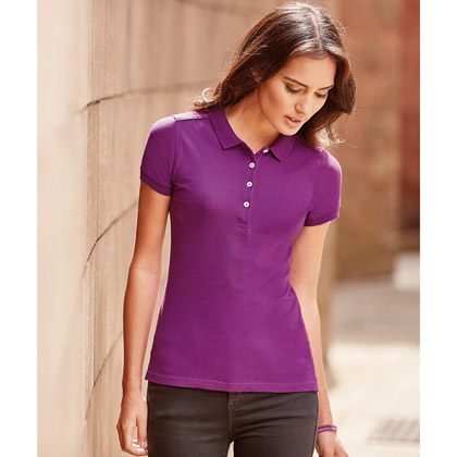 Russell Ladies´ Fitted Stretch Polo 566F