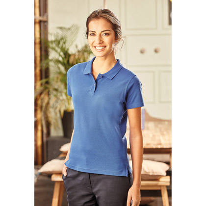 Russell Ladies´ Ultimate Cotton Polo 577F