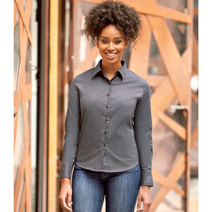 Russell Ladies´ Long Sleeve Classic Twilll Shirt 916F