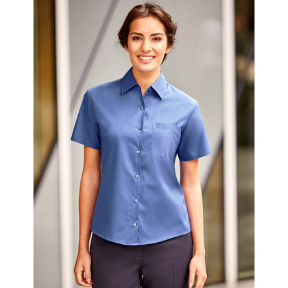 Russell Ladies´ Short Sleeve Pure Cotton Shirt 937F