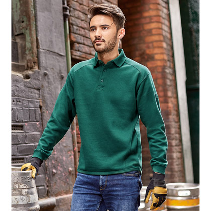 Russell Heavy Duty Workwear Collar Sweatshirt 012M