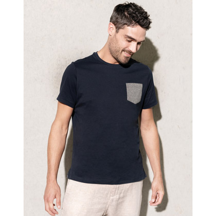 Kariban Organic Cotton T-shirt Pocket