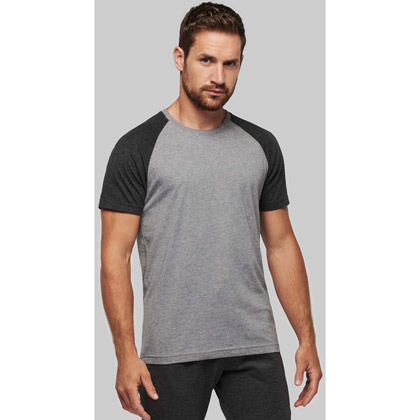 Kariban Adult TriBlend Two-Tone T-shirt