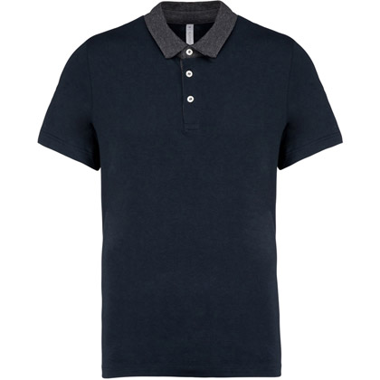 navy/ dark grey heather